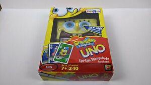 Mattel Games Nickelodeon SpongeBob Squarepants Uno Spinning Action Card Game