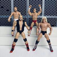 WWE THE FOUR HORSEMEN HALL OF FAME MATTEL ELITE SERIES WRESTLING FIGURES BUNDLE