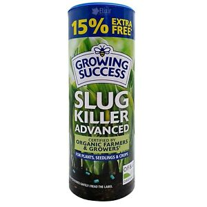 SLUG KILLER GROWING SUCCESS ADVANCED RAIN FAST + CONFORMS TO ORGANIC GROWING REG