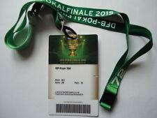 VIP TICKET & Keyholder DFB Finale 2015 Dortmund - Wolfsburg # Foyer Süd