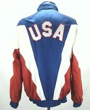 ADIDAS Mens Vintage JACKET OLYMPICS 1987 PAN-AMERICAN GAMES USA Sz Medium RARE !