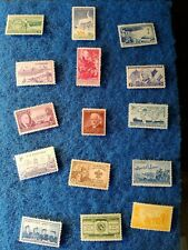 Us postage stamps collections lots  assorted. 3 cent lot mint