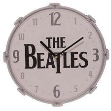 Funky The Beatles Drum Design Wall Clock
