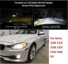LED Headlight light Kits H/L Beam For BMW  320i 323i 328i 335i 530i 540i Z4 2PCS
