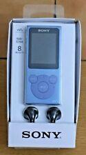 SONY NW-E394 WALKMAN 8GB FM RADIO MP3 BLUE PLAYER - NEW - BOXED