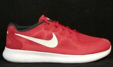 NIB NIKE Mens 12 FREE RN 2017 880839 601 GAME RED RUNNING CASUAL SHOES MSRP $100