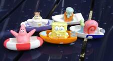 kompl. Satz - Spongebob Schwammkopf 5 Figuren im Boot auch als Tortendeko NEU