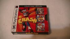 Crash Bandicoot Collector's Edition - PS1 PS2 complete