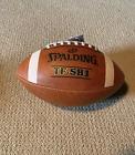 Внешний вид - Spalding Leather Football TF-SB1 Official Size & Weight New MPN 72-6038