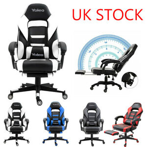 Racing Gaming Chairs Swivel Lift Office Executive Recliner Computer Desk Chair