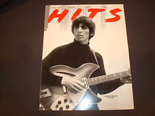 GEORGE HARRISON of THE BEATLES 1943-2001 tribute ad young and with guitar