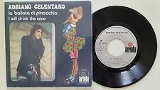 Adriano Celentano - La ballata di Pinocchio 7'' Single SPAIN