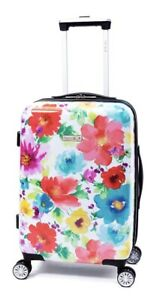 The Pioneer Woman Hardside iFLY Luggage w/Wheels Breezy Blossom Suitcase NEW