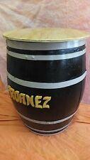 BARRIL MESA PERSONALIZADO, grande, de 250 litros. Elija el nombre