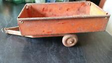 vintage tin  boomaroo tractor trailer