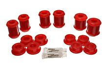 05-12 C6 Corvette BASE Rear Upper Lower Control Arm Bushings Polyurethane RED