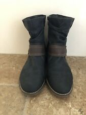 Remonte Reiker Schuh Womens Size 37/ US 6.5 Navy Blue Ankle Boots