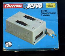 Carrera Servo -- Nº 53716 -- transformateur 2x0, 6 A 8-10-12 V -- Servo Carrera Systèmes