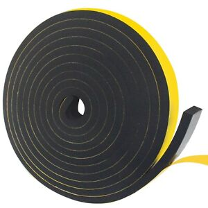 Weather Stripping Door Seal Strip,Foam Insulation Tape for Sliding Doors and ...