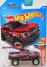 HOT WHEELS 2016 HW HOT TRUCKS FORD F-150 RAPTOR CUSTOM MADE W+