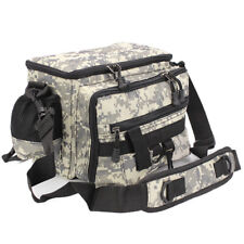 Fly Fishing Lure Tackle Bag Fanny Pack Pouch Adjustable Waist Belt Travel Bag