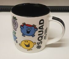 🔶MR MEN LITTLE MISS #SQUAD COFFEE MUG by ROGER HARGREAVES 2019 _RARE_