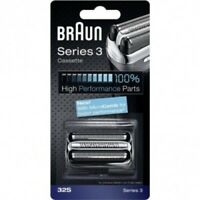 Braun 32S Series 3, Electric Shaver Replacement Foil & Cutter Cartridge - SILVER