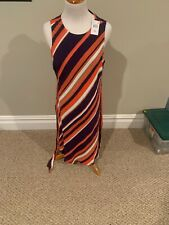 NWT A PEA IN THE POD Polyester full length maxi Dress size XL ($148)