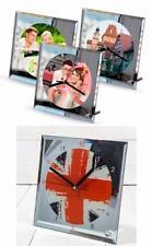 Handmade Glass Desk, Mantel & Carriage Clocks