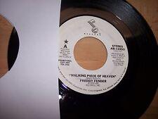 "VG++ 1979 Freddy Fender Walking Piece MONO/Stero PROMO 7"" 45RPM w/ppr slv"