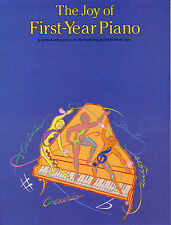 The Joy Of First Year Piano Piano Sheet Music Instrumental Album