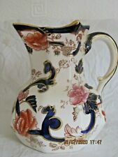 Mason's Blue Mandalay jug excellent condition 11.5 cm tall
