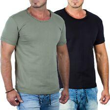 RedBridge Herren Regular Fit T-Shirt kurzarm Shirt Freizeit Fitness Boxen Street