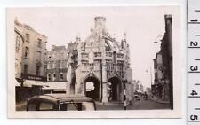 Chichester Cross - West Sussex - Vintage Velox Photo