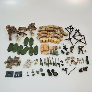 100+ Forces of Valor 1:32 Woodland Diorama Pieces Accessories to Build Your Own