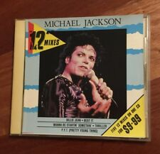 "Michael Jackson 12"" Mixes CD Australian Only Release Rare King Of Pop"