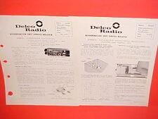 1963 PONTIAC OLDSMOBILE UNITED MOTORS DELCO GM REVERBERATION SERVICE SHOP MANUAL