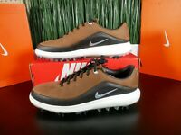 Nike Air Zoom Precision Golf Shoes leather British Tan 866065-200 Multi Size