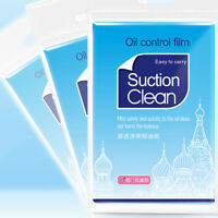 100x Facial Oil Control Film Wipes Sheet Absorbing Face Blotting Paper Grease MR