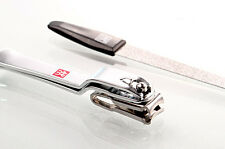 Zwilling J.A. Henckels Manicure 2pc Set Nail Clipper & File w/ Leather Case