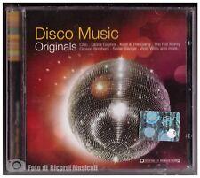 DISCO MUSIC ORIGINALS **NUOVO SIGILLATO** Chic,Village People,Gloria Gaynor