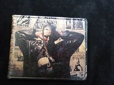 Marvel Men's Punisher Frank Castle Skull Bifold Leather Wallet New Genuine