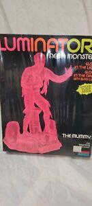 "LUMINATORS ""THE MUMMY"" neon monsters plastic model kit by MONOGRAM"
