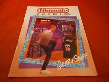 Nintendo Gear & Stuff World of Nintendo Power NES Supplies Catalog ONLY