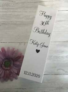 Personalised Birthday Bottle Box Gift Box, Personalised Gift Box, Birthday Box
