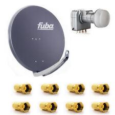 Fuba DAA 850 A SAT Anlage Schüssel HDTV 85 cm Anthrazit Fuba DEK 417 Quad LNB