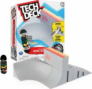 Tech Deck Bowl Builder X-Connect Park Creator, Customizable and Buildable Ramp
