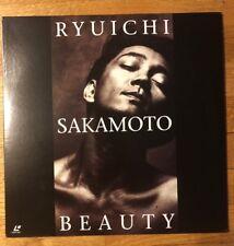 Ryuichi Sakamoto Beauty (1990) [VALJ-3200] Japan Laserdisc Y.M.O. ♪Video Arts !!