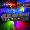 460mW 4 Lens Beam Laser Stage Light RGPY DMX DJ Disco Show DJ Party Laser Licht