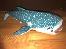 Disney Store Finding Dory Destiny Whale shark Plush Stuffed Animal 22""